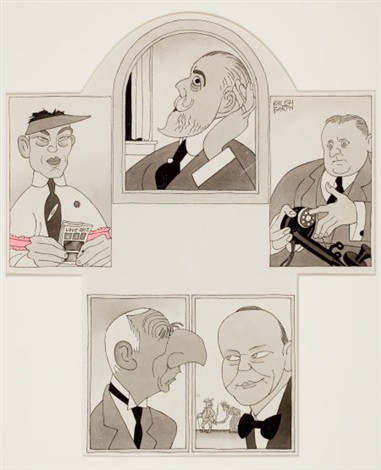 heroes of the week october 24 the new yorker by ralph barton