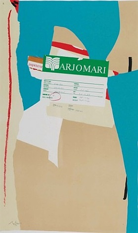 american la-france, variation ii by robert motherwell