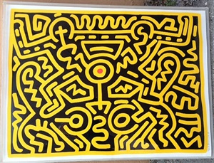 growing suite #3 by keith haring