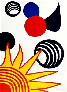 alexander calder, graphic works by alexander calder