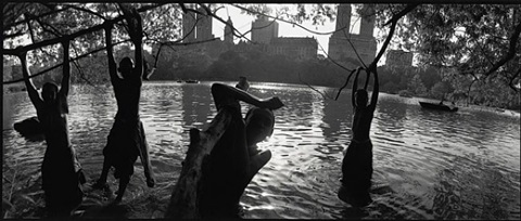 central park. new york city by bruce davidson
