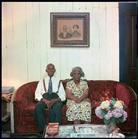 mr. and mrs. albert thornton, mobile, alabama, 1956 by gordon parks