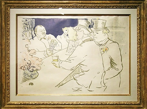 the irish and american bar, rue royale by henri de toulouse-lautrec