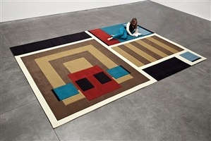 a-z carpet furniture: cabin by andrea zittel