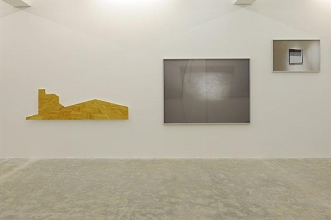 scratcing on thnigs i could disavow, 2012 (exhibition view sfeir-semler, beirut) by walid raad