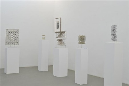 exhibition view, hamburg by günter haese