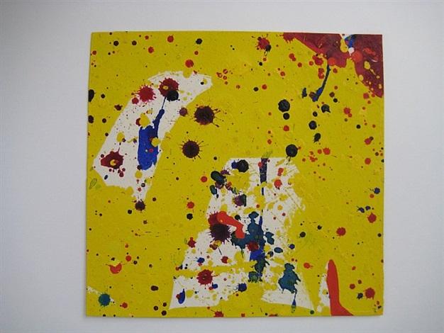 untitled sf64-617 by sam francis