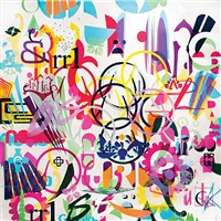 sponsorshipredux painting 1 (sold) by ryan mcginness