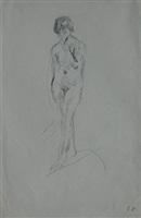 standing nude by edouard vuillard