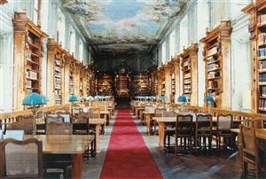 nationalbibliothek wien i by candida höfer