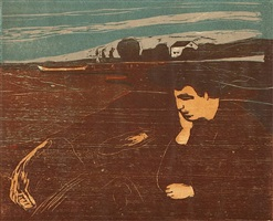 melancholie iii by edvard munch