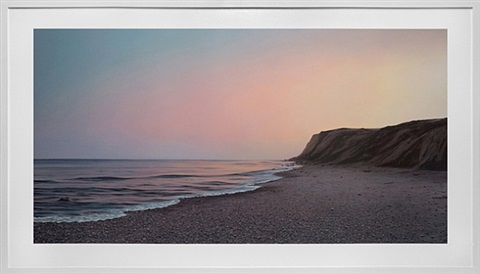 montauk point: sunset by adam straus