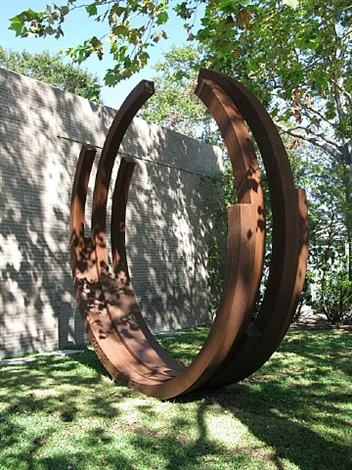 223.5° arc x 5 by bernar venet