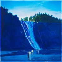 waterfall by isca greenfield-sanders