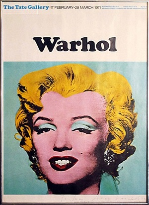 marilyn (tate gallery, 1971) by andy warhol