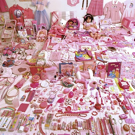 seowoo and her pink things by yoon jeongmee
