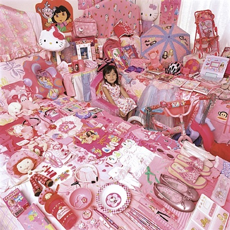 celine and her pink things by yoon jeongmee