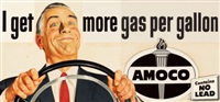 untitled (amoco advertisement) by harry fredman