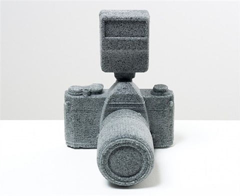 pentax k1000 reformed in sand by daniel arsham