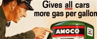 gives all cars more gas per gallon (amoco advertisement) by harry fredman