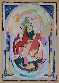 figure ou composition by albert gleizes