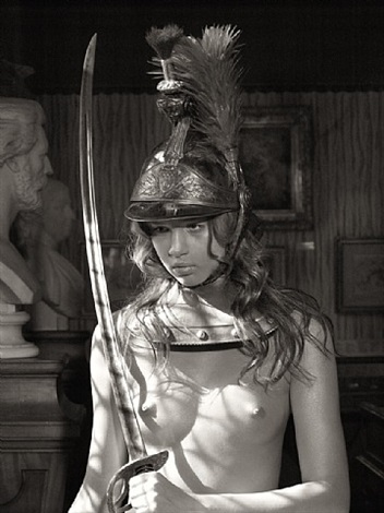 la fille au casque d'or / girl in a golden helmet by bettina rheims