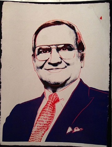 lee iacocca by andy warhol