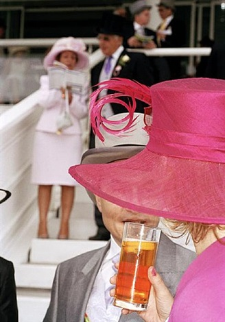 g.b. england. epsom. the derby. luxury by martin parr