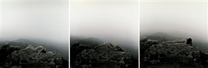 in the great wall, china 2000 no. 1, 2, 3 by rong rong & inri
