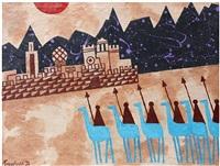 camel corps by julian trevelyan