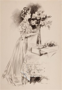 the flower arrangement by henry hutt
