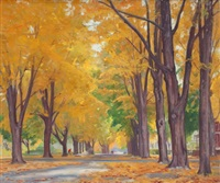 autumn landscape by john newton howitt