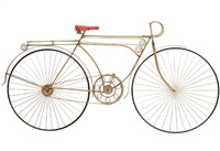 curtis jere bicycle wall sculpture by curtis jere