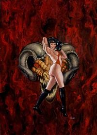 vampirella, a scarlet thirst by ron lesser