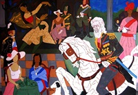british raj by maqbool fida husain