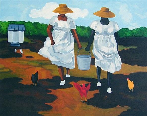 sharing the chores by jonathan green