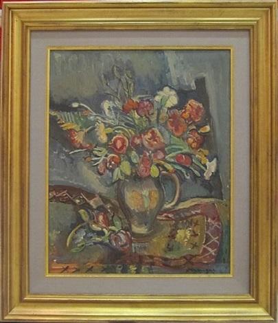 bouquet de fleurs by pinchus krémègne