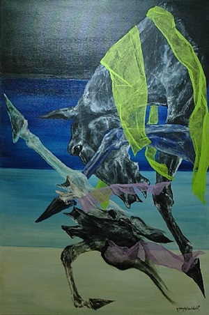 galop celeste (celestial gallop) by alain brandebourger