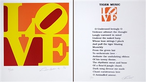 love (the book of love) by robert indiana