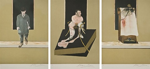 tryptich…wilson,…edwards,…trotsky… by francis bacon