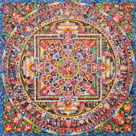 mandala no. 16 by ye hongxing