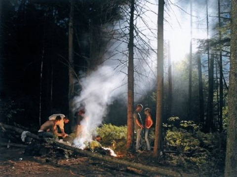production still forest gathering 2 by gregory crewdson