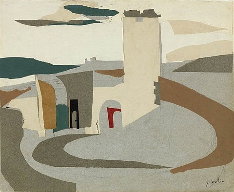 knowlton, dorset by john piper
