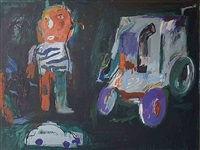 untitled painting 2 by yaser safi