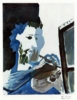 le peintre (the painter) by pablo picasso