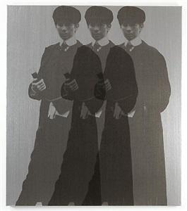 triple ghost yentl (my elvis) by deborah kass