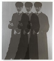 triple ghost yentl (my elvis) by deborah kass