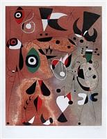 woman, birds, star (femme, oiseaux, etoile) by joan miró