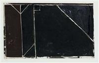 folsom street variations i (black) by richard diebenkorn
