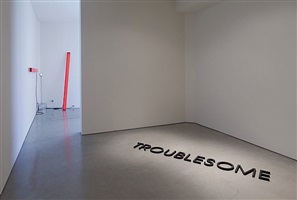 installation view: troublesome